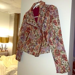 Free people floral jacket